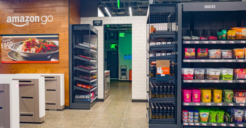 iot amazon go store